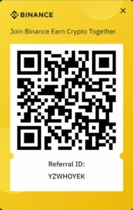 Binance referral code id