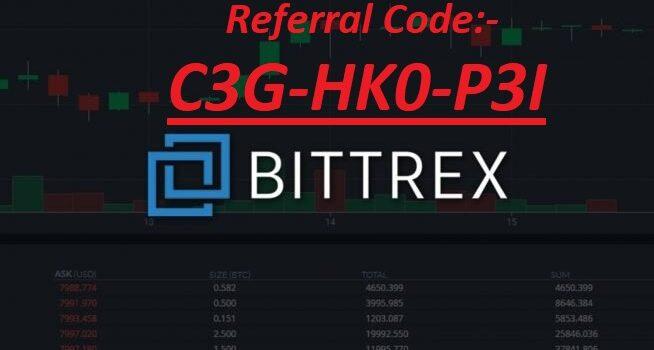 Bittrex Referral code 2021