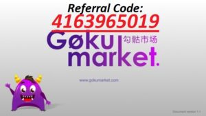 Gokumarket referral code