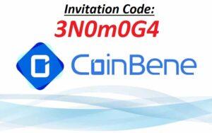 CoinBene Invitation code