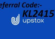 Upstox Referral Code