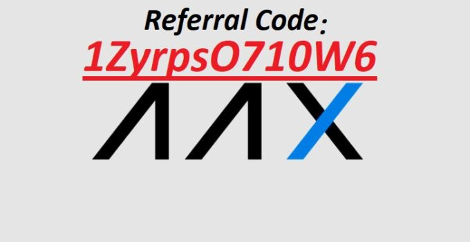 AAX Referral Code