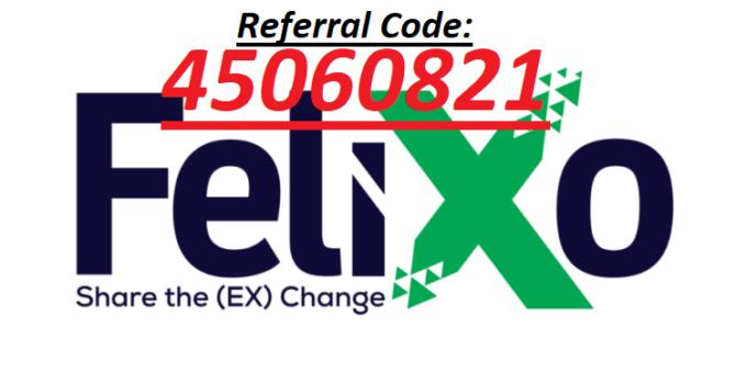 Felixo Referral Code