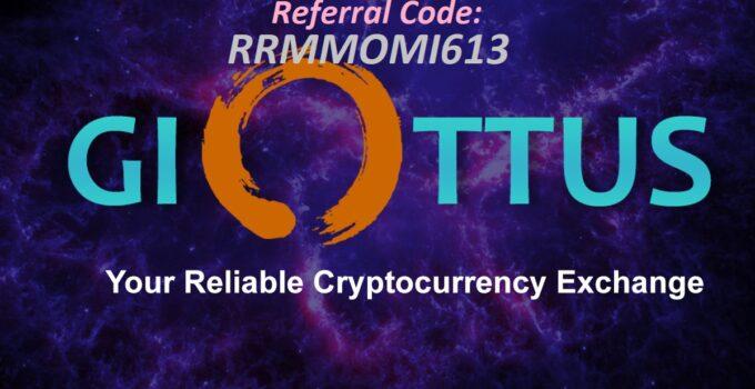 Giottus referral Code