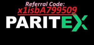 Paritex referral Code