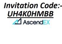 ascendex Invitation code