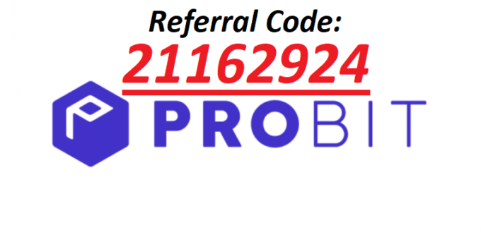 Probit Referral Code