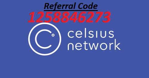 Celsius referral code