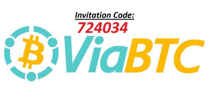 ViaBTC Invitation code